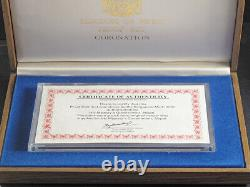 1981(1974), Nepal. 7th Coronation Anniv. Proof Coins Set in Wooden Box w. COA
