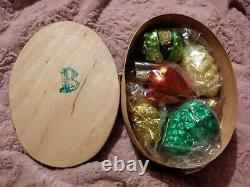1996 #9651 Patricia Breen Walk in the Woods Full Set of 5 Ornaments withBox