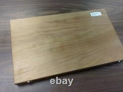 39 Pcs/Set HSS Interchangeable Pilot Counterbore Set in wooden box #510-IDX