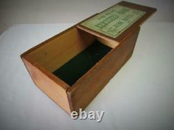 ANTIQUE-VINTAGE CHESS SET FRENCH REGENCE PATTERN K 92 mm + ORIG BOX NO BOARD
