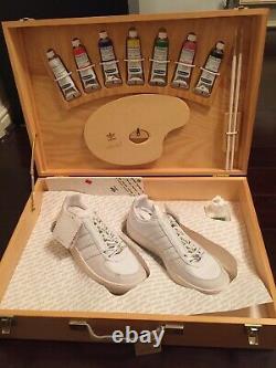 Adidas Adicolor Lo W1 Limited Wooden Box Set UK7 Brand New