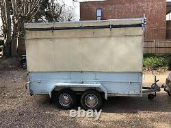 All in One Mobile Market Stall. Drive up, set up with this renovated horse box