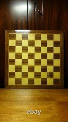 Antique Anri Space Age Universum Elliott Chess Set Game + Board + Original Box
