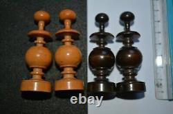 Antique Regency St George Chess Set Complete VGC Boxed, Large King 8.5 cm