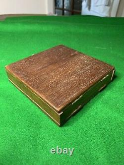 Antique/Vintage Jaques Travel Chess Set The Ditty Chess Box
