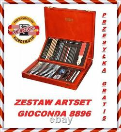 Artistic set ARTSET GIOCONDA 8896 KOH-I-NOOR in a wooden box