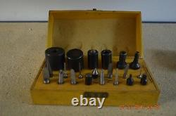Bergeon Bushing Clock Tool 21 Accessories set ONLY with wooden box for project