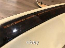 Bmw E38 740i 740il 750i 750il Front Upper Seat Wood Trim Panel Panels Set Oem