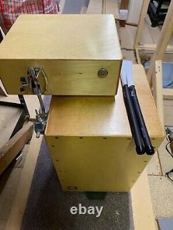 Cajon mini drum set with snare box