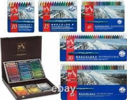 Caran d'Ache Neocolor II Water Soluble Wax Pastels Sets of 10, 15, 30, 40, 84