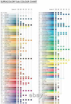 Caran d'Ache Supracolor Professional Artist Soft Water Soluble Colour Pencil Set