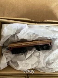 Cashe Creek N Scale Models Custom Logging Mining Flat Crane Work Box Car Set Lot