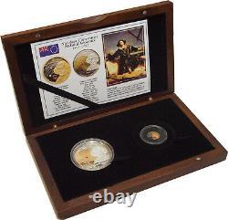 Cook Islands 2008 Nicolaus Copernicus Exclusive set in wooden BOX with COA