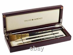 Daler Rowney Artists Diana Watercolour Paint Brush Set Luxury Wooden Gift Box