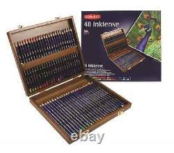 Derwent Inktense Pencils 48 Wooden Box Set