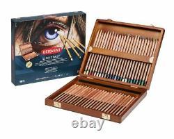Derwent Lightfast Professional Quality Colour Pencils 48 Wooden Box Set