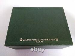 GENUINE ROLEX Sea Dweller 16600 watch box case 65.00.02 Guarantee set 199005