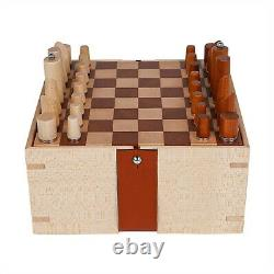 Hermes Mini Samarcande Chess Set Magnetic New with Box