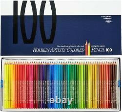 Holbein Artists Colored Pencils 100 Colors Set Paper Boxed OP940