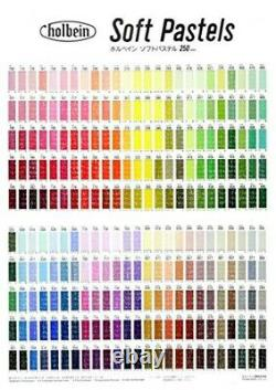 Holbein Artists Soft Pastels 150 Colors Set S959 Wooden Box
