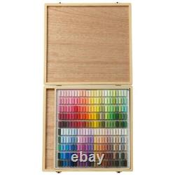 Holbein Artists' Soft Pastels 250 colors Set S969 in Wooden Box Japan