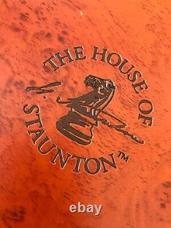 House of Staunton Handcraft Wood Chess Set With A Box (no Board)