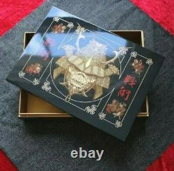 Iron Maiden Senjutsu Exclusive Limited Edition Fan Club Box Only 2021 Wooden