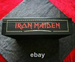 Iron Maiden Senjutsu Fan Club wooden box set (2021 copies worldwide) PREORDER