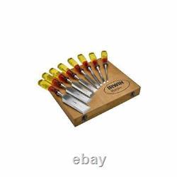 Irwin Chisel Set Marples 8 Piece Limited Edition Split Proof Wooden Box