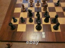 Jaques of London Reproduction Chess Set and Walnut Chess box