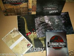 Jurassic Park Trilogy Wooden Box Limited 6-discs Edition Gift Set NEW