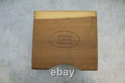 Kingsley Hot Foil Stamping Machine 18pt. Type 5 Wooden Box sets Cabinet Drawer