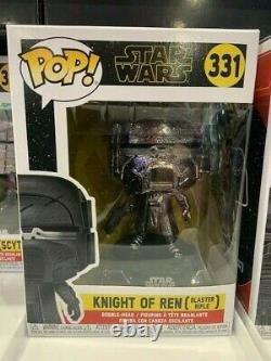 Knights of Ren Hematite Chrome Set of 6 STAR WARS Funko Pop Vinyls New in Boxes