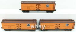 Lionel 6-11657 Pacific Fruit Express Woodsided Reefer (Set of 3) LN/Box