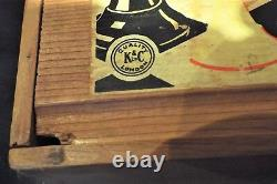 London ANTIQUE CHESS SET ENGLISH STAUNTON PATTERN K 8cm High. BOX -NO BOARD