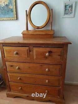 Marks and Spencer Pine bedroom furniture Set, Wardrobe, Drawers And Blanket Box