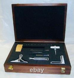 Masonic full size set of working tools in a beautiful wooden box (promo offer)