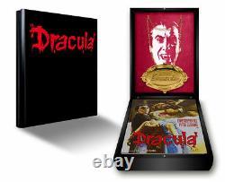 Mediabook Hammer Edition Dracula Deluxe Wooden Christopher Lee Blu-Ray Lackbox