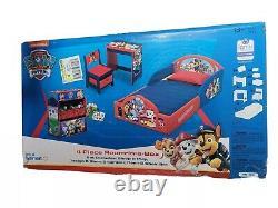 Nick Jr. PAW Patrol 4-Piece Room-in-a-Box Bedroom Set