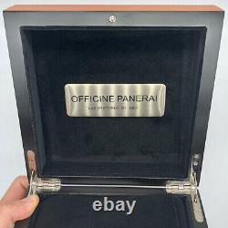 OFFICINE PANERAI LUMINOR WATCH BOX CASE FIRENZE 1850 Tool Band Set 100%Authentic