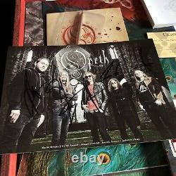 Opeth Sorceress Wooden Box Set 2000 Worldwide steven Wilson Porcupine Tree