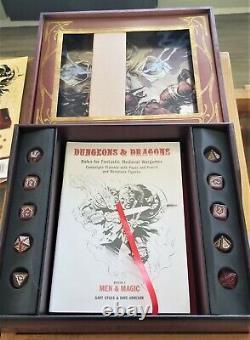 Original Dungeons and Dragons set 2013 WotC Wood Box Set Booklets Sealed