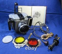 PA-39 RA-39 Rare Russian Aero Air Camera lens Uran 27 2.5/100 +Set Wooden Box