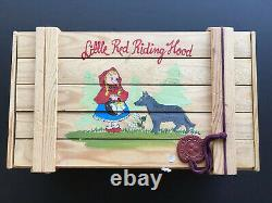 Polonaise Little Red Riding Hood Limited Edition Glass Ornament Set in Wood Box