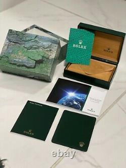 Rolex Oyster Datejust Box Full Set With Booklets Inner Outer Box