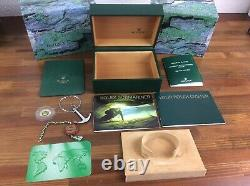 Rolex Submariner 16613 Watch Box Full Set Anchor Booklets Tag holder + free post