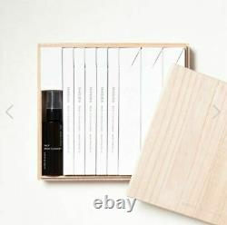 SHAQUDA special GIFT SET (8 Brushes & Cleaner) Kumano traditional /wooden box