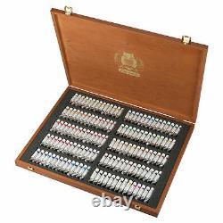 Schmincke Horadam Artists Watercolour Wooden Box Set 140 x 5ml Tubes 74 817