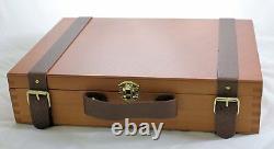 Sennelier Artist Professional Oil Paint Wooden Box Set 15x21ml Tubes +Accesories