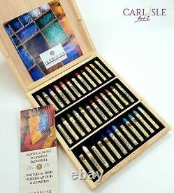 Sennelier Plein Air Oil Pastels Wooden Box Set Of 36